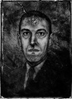 Howard Phillips Lovecraft by YannGOBART