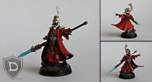 Eldar Farseer by Dutchkat