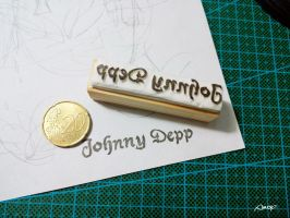 Johnny Stamp by amoykid