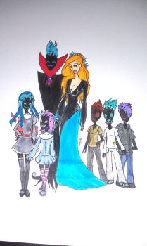 Demongo's family by missnene1