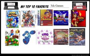 My Top 10 Favourite 3DS Games by alvarobmk123