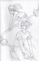 two-a-side quidditch by burdge