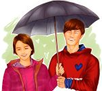 Cute Spartace under the umbrella by Shellkiller