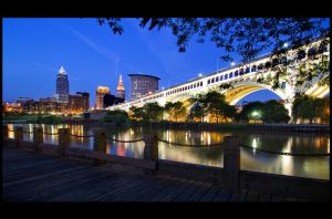 The City of Cleveland by BillyRWebb