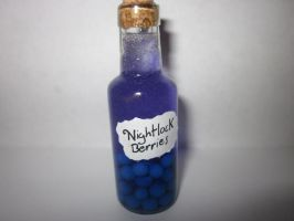 Polymer clay Nightlock Berries by Darklunax110