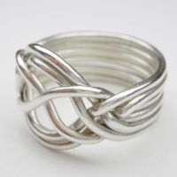 6 band puzzle ring - 2 by nellyvansee