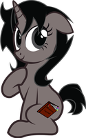 Hi, I'm Blacky (gift) by Spectty