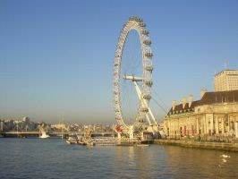 London Eye by mimih
