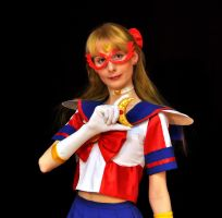 Sailor V crescent by LoveSenshi