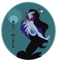 Grims Charming Contest: Sea Witch by Immobliss