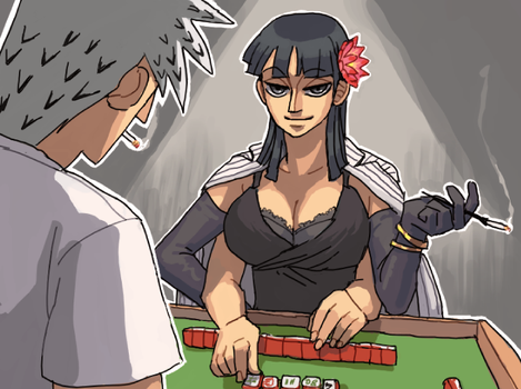 mahjong faceoff by emlan