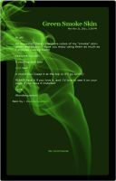 Green Smoke Skin by Wonderquarium