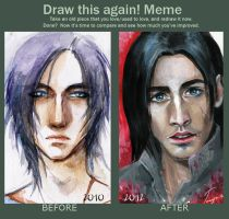 Draw it again 2010 vs 2012 by TanyaNorth