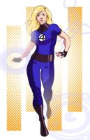 Invisible Woman gift by avidcartoonfans