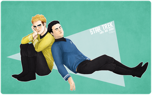 Kirk And Bones by ttx6666