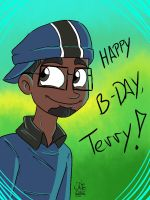 Happy Birthday Terry by WhiteBAG