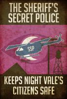 Welcome to Night Vale - Sheriff's Secret Police by XibXib