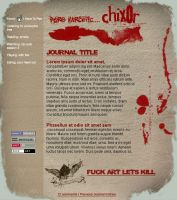 Chix0r Journal Design Final by Phr33kSh0