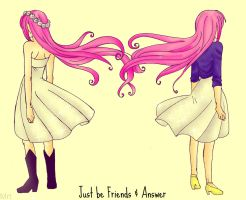 Just be Friends and Answer by MrtViolet
