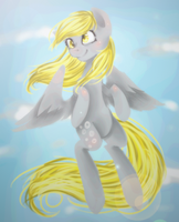Derpy by PlatinumPoinsetta