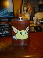 Leather 38 - Rabite FLASK by dragoon811