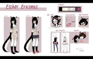 Esther Erasmus Reference 2015 by Ataraxii