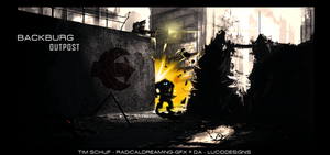 BackBurg outpost by RadicalDreaming-GFX