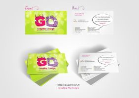 business card by AbdelhakBoukili