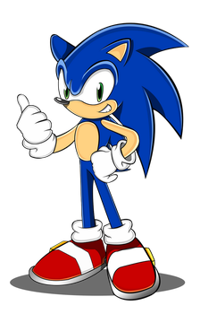 Sonic new design (Sonic Channel version) by trungtranhaitrung