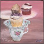 Cupcakes and Teacups by raimondiphotography