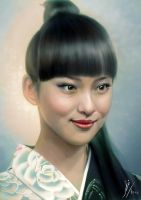 Portrait of Emi Takei by Fihril