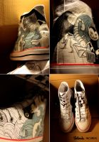 Incubus Rock Chucks by Bobsmade