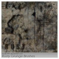 Rusty Grunge Brushes by Scully7491