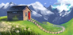 The House on the Hill by CaraKhan