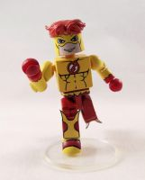 Kid Flash Custom Minimate by luke314pi