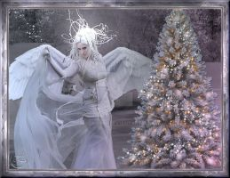 Christmas Angel 2012 by nudagimo