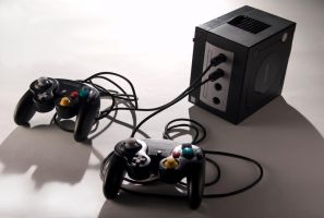 Game Cube by brandimillerart