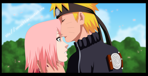 NaruSaku [kiss] by FabianSM