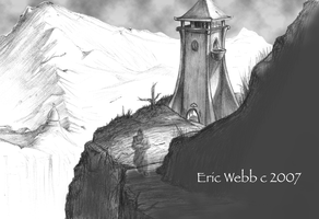 The Ghost Tower by erwebb