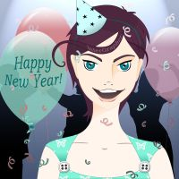 Happy New Year by InterGrapher