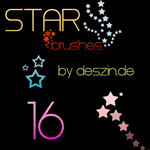 16 Star Brushes by ypt10