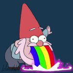 Gravity Falls: Gnome Rainbow by IslandWriter