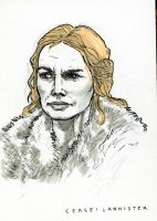 Cersei Lannister by crisurdiales
