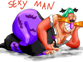 Robotnik is a sexy Morrigan by Keirii-of-Celts