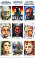 Star Wars Chrome Perspectives 2015 APs by Erik-Maell