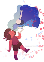Ruby and Sapphire by plastic-pipes