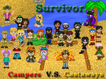 Survivor: Campers Vs Castaways by shadow0knight