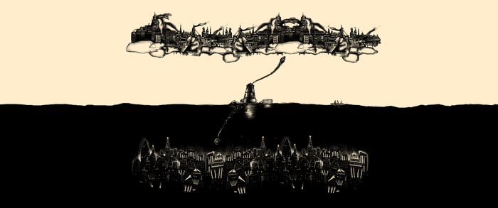 A Tale of Infinite Cities Wallpaper (3440x1440) by MessyPandas