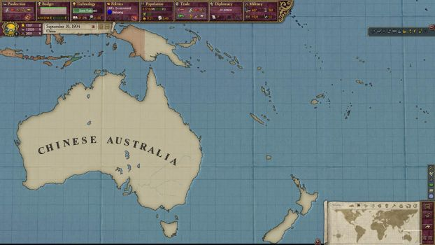 Empire of the Great Qing - Australia 1904 by EternalInsanity787