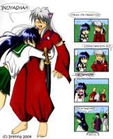 inuyasha...osuwari--color by br3nna